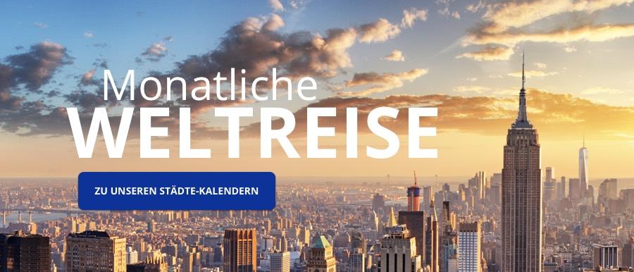 Städte Kalender von starkalender.de