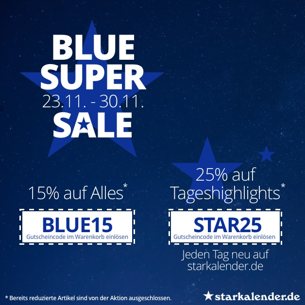BLUE SUPER SALE