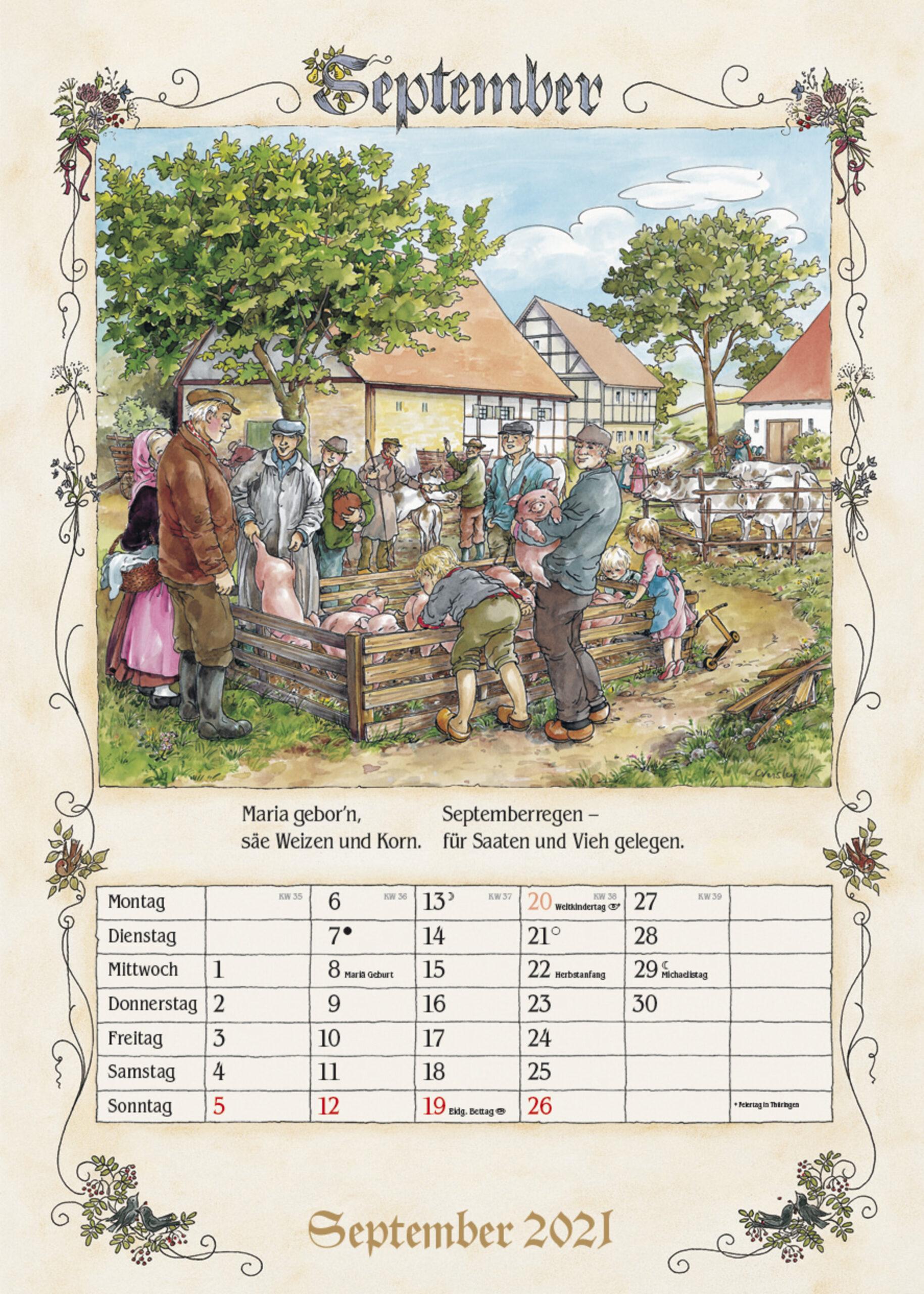 Bauernkalender 2021